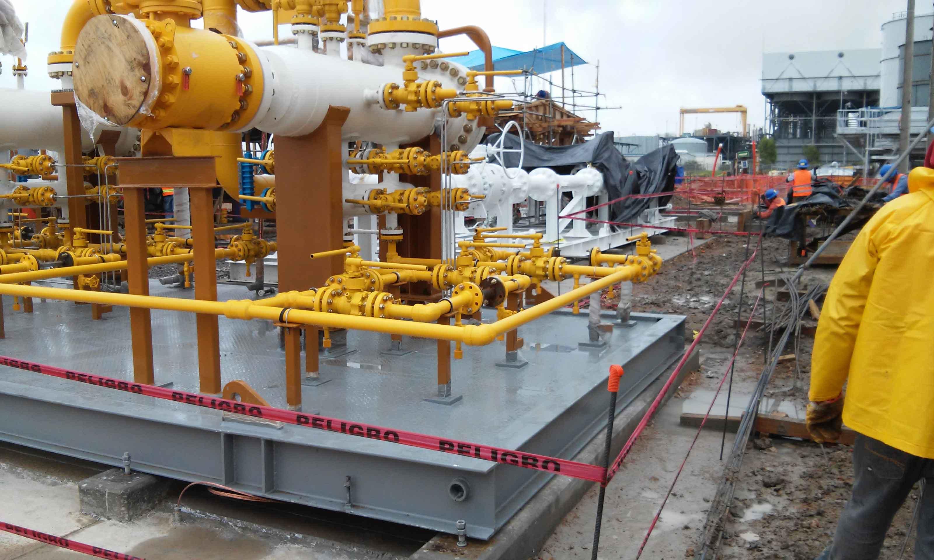 Estaciones de medicion de gas atypsa for Medicion de gas radon